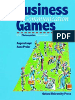 Angela Lloyd, Anne Preier Business Communication Games