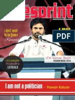 Tollywood Movie Magazine | Pawan Kalyan on Cinesprint Magazine | Cinesprint Volume 3 Issue 1
