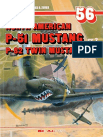 (Monografie Lotnicze No.56) North American P-51 Mustang/P-82 Twin Mustang, Cz.2