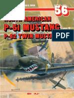 (Monografie Lotnicze No.56) North American P-51 Mustang/P-82 Twin Mustang, Cz.2