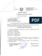 Deciziile CO Edineţ Şedinţa nr. 21 din 27 noiembrie 2013