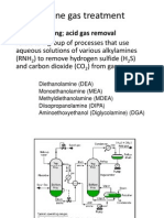 Amine Gas Treatment (in petroleum refining)