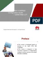 OptiX RTN 900 V100R002 Configuration Guide-20091229-A
