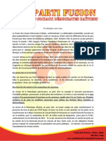 Position de La Fusion Par Rapport Aux Conclusions Du Dialogue 28 Fevrier 2014-1
