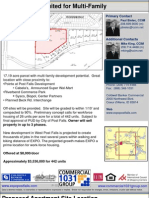 17 Acre Parcel Suited for Multi-Family