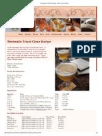 Homebre1w Chef_ Westmalle Tripel Clone Recipe