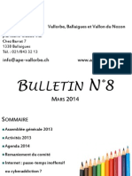 bulletin n°8 mars 2014