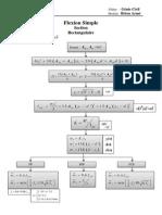 Flexion Simple Section Rectangulaire ELS