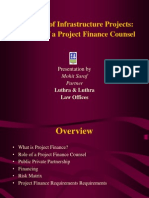 presentationoninfrastructureprojectfinance-110316073340-phpapp02
