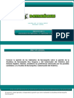 Encuesta Datanálisis - Abril 2014