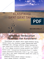 Klasifikasi Sifat Tanah