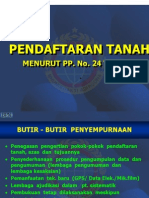 PENDAFTARAN TANAH (BPN)