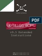 Kyrillos v9.5 Extended Instructions