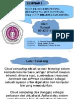 Nuhajat 09.43.914 - Membangun Cloud Computing Pada STMIK WiCiDa Samarinda