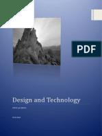design and technology portfolio