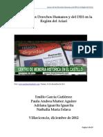 Lectura de los Derechos Humanos y del DIH en la Región del Ariari