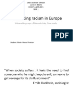 Combating Racism in Europe