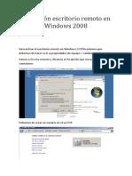 Activación escritorio remoto en Windows 2008.docx
