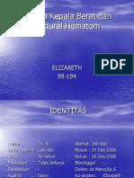Cedera Kepala Berat Dan Epidural Hematom