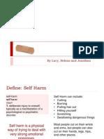 Self Harm DADAAAA (a presentation)