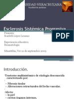 Esclerosis Sistémica Progresiva