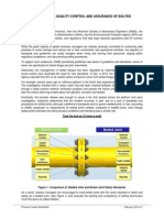 New Standards for QC-QA of Bolted Flanges