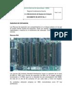 Documento de Apoyo No. 3 Conectores, Ranuras de Expansion y Sockets