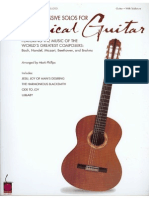 60 Progressive Solos for Classical Guitar Tabs