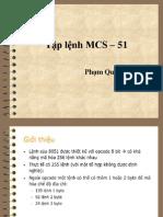 03 Tap Lenh MCS-51