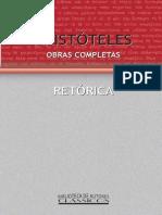 ARISTÓTELES. Retórica