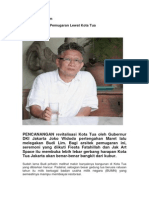 SOSOK. Budi Lim   Jejak Arsitektur Pemugaran Lewat Kota Tua