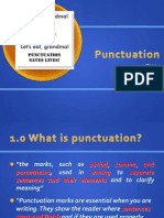 Punctuation s
