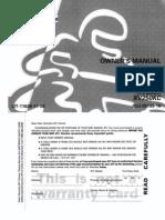 ymh Xv250 Users Manual