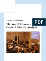The World Economic Crisis