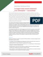 Unilever Global Strategic  Reward System