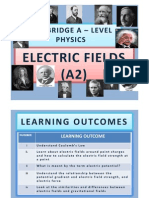 Chapter 17 Electric Fields (A2)