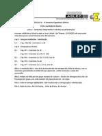 Lista de Exercicios Calculo 2