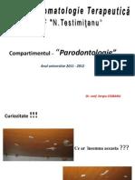 Structura Parodontiului