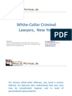White-Collar Criminal Lawyers  New York