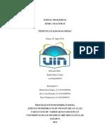 Jurnal Praktikum Kimia Analitik II Penentuan Kadar Klorida