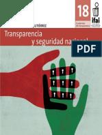Transparencia y Seguridad Nacional Ifai