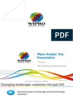 Wipro Analyst Day Presentation