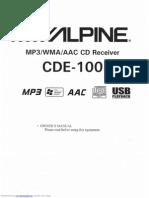 Alpine Cde100