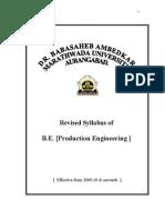 B.E. Production Engineering