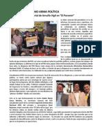 """Carta abierta """"La simulación como arma política"""" como respuesta a Arnulfo Vigil"""