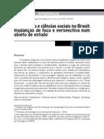 Catolicismo e ciÊncias sociais no Brasil - Steil