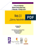 Web 2.0 - Jos Gregorio Silva