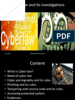 cyber laws and crimes