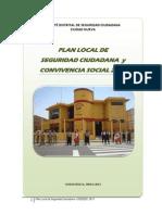 Plan Local Seg 2013 - Ciudad Nueva