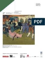 Exposition Paris 1900 - Petit Palais - dossier de presse